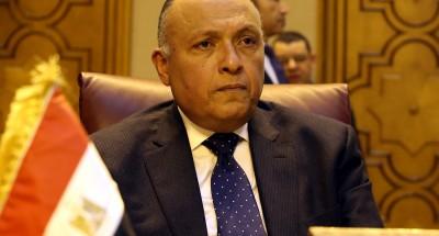 """""""سامح شكري"""": مصر لن تتهاون في الدفاع عن حصتها المائية"""