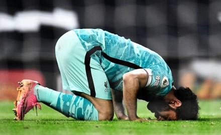 هدافي الدوري الإنجليزي بعد هدف محمد صلاح في مرمي مانشستر يونايتد اليوم