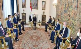 الرئيس السيسي يستقبل وزير الاقتصاد والمالية الفرنسي