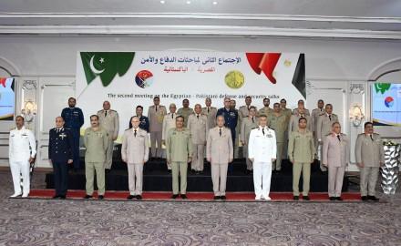 أخبار مصر | وزير الدفاع يلتقي رئيس هيئة الأركان المشتركة الباكستانية
