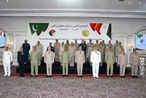 أخبار مصر   وزير الدفاع يلتقي رئيس هيئة الأركان المشتركة الباكستانية
