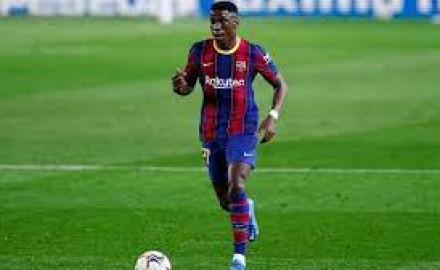 """لاعب برشلونة """"موريبا"""" يرفض الانتقال إلى تونتهام"""