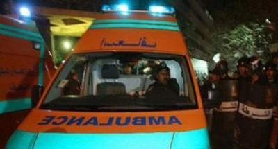 إصابة سيدتين إثر سقوط بلكونة بتقسيم 4 فى مدينة كفر الشيخ