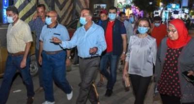 محافظ الإسكندرية: حملات مكبرة للقضاء على الأسواق العشوائية