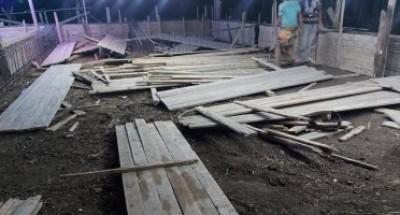 إزالة 3 حالات بناء مخالف وحملات تموينية مكبرة فى مراكز البحيرة