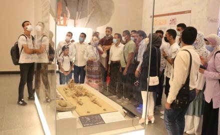 """يوم ثقافى للطلاب الوافدين بـ""""جامعة المنصورة بـ""""متحف الحضارة المصرية"""