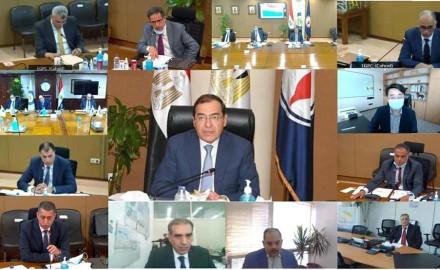 وزير البترول : اعتماد نتائج أعمال شركتى بدرالدين ورشيد والبرلس للعام المالى 2020 / 2021