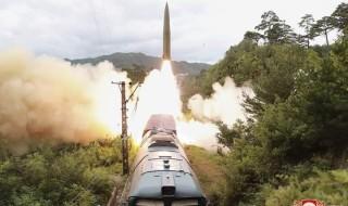 كوريا الديمقراطية: تستخدم نظاما جديدا لإطلاق الصواريخ من القطار
