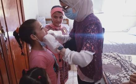 """"""" هي والمستقبل الخيرية """" تدفع بقافلتها الطبية لمؤسسة رعاية البنات بالمنصورة"""