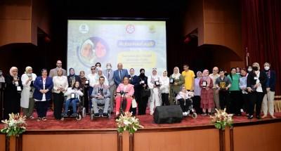 الدكتورة مايا مرسى : مصر بقيادة الرئيس السيسي تولى اهتماما كبيرا بقضايا المرأة واوليات خاصه بقضايا المرأة ذات الاعاقه