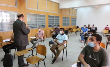 بدأ تنفيذ خطة تطعيم الطلاب ( الطلاب اقدامى ) بجامعة المنصورة