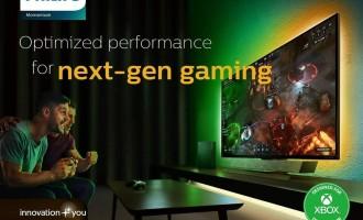 """فيليبس تقدم شاشة الألعاب الجديدة """"مومنتم 559M1RYV"""" بتقنية 4K HDR لعشاق Xbox"""