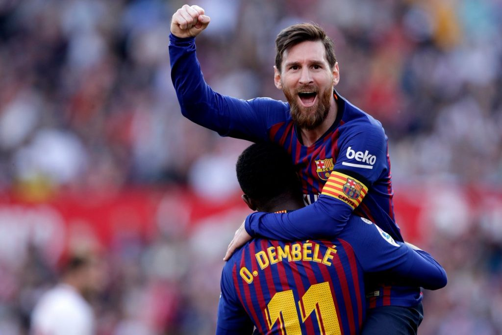 ميسي يتصدر ترتيب هدافي الدوري الإسباني، شبكة يو دبليو إن